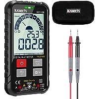 KAIWEETS Digitale multimeter Automatisch bereik 6000 tellingen TRMS Ultra-draagbare multimeter Tester DMM / Voltmeter…