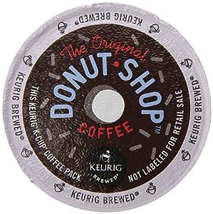 Keurig, The Original Donut Shop, Medium Roast Coffee, K-Cup Counts, 50 Count