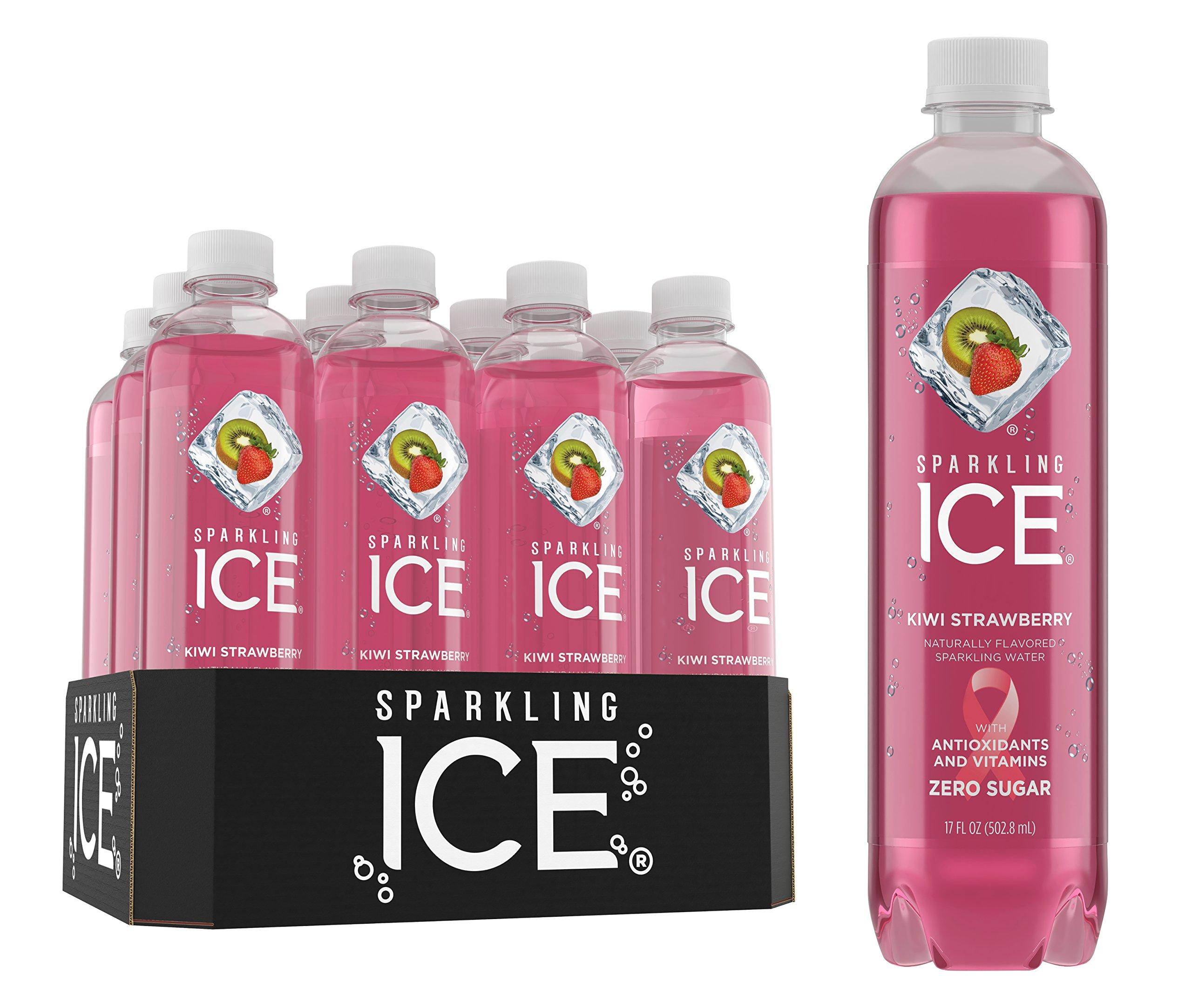Amazon.com : Sparkling Ice Strawberry Watermelon Sparkling Water ...