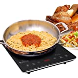 DUXTOP UltraThin Full Glass Top Portable Sensor Touch Induction Cooktop Countertop Burner