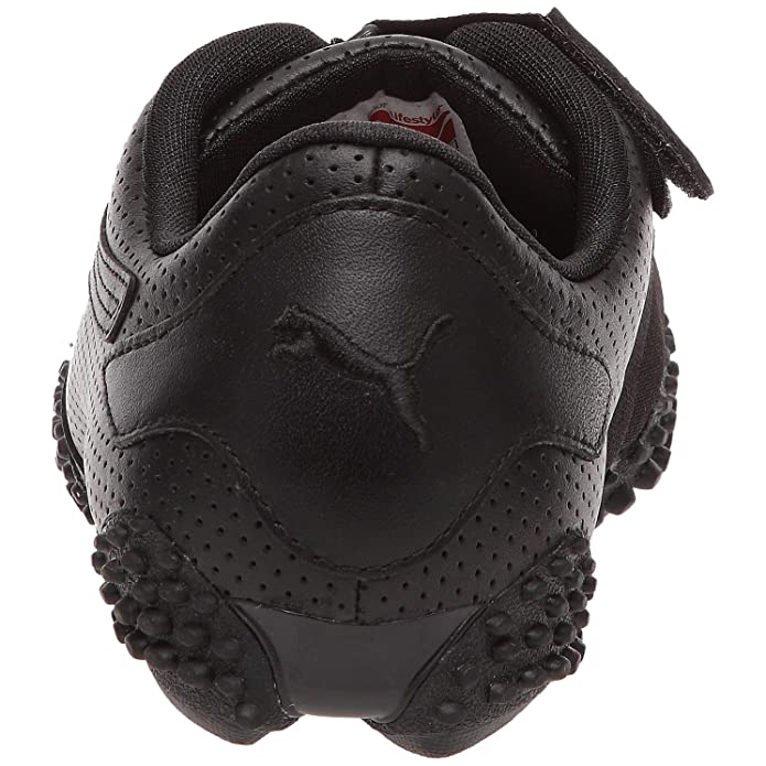puma mostro perf leather noir