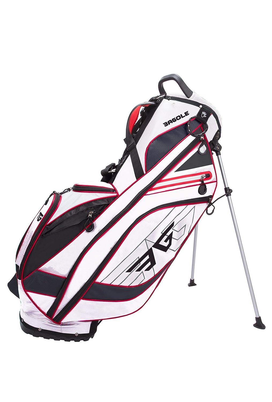 eagoleゴルフSuper Lite e-7、4 Wayトップ、ゴルフスタンドバッグ B01N4DJLBU  ホワイト