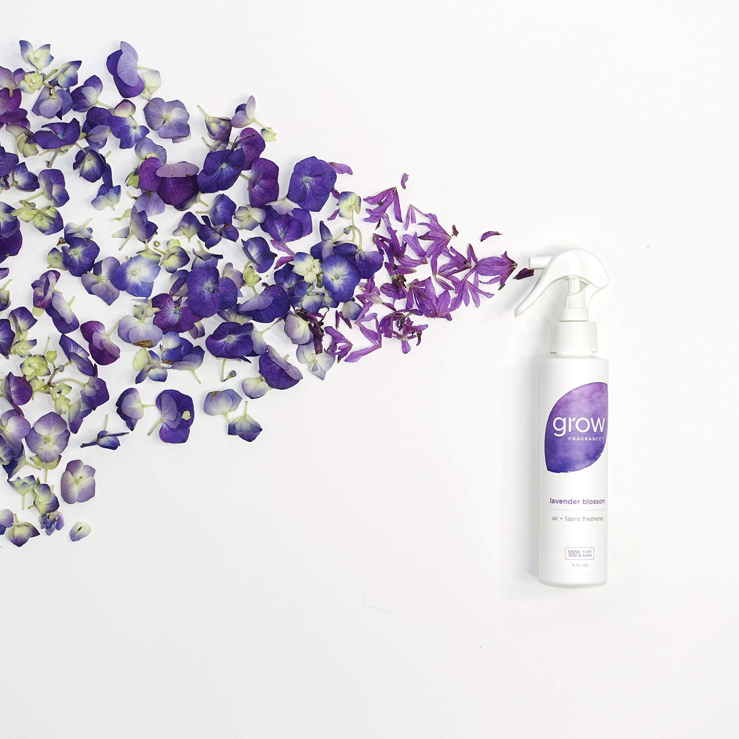 Grow Fragrance - Certified 100% Plant Based Air Freshener + Fabric Freshener Spray, Made With All Natural Essential Oils, Lavender Scent, 5 oz. (Pack of 2) by Grow Fragrance (Image #3)