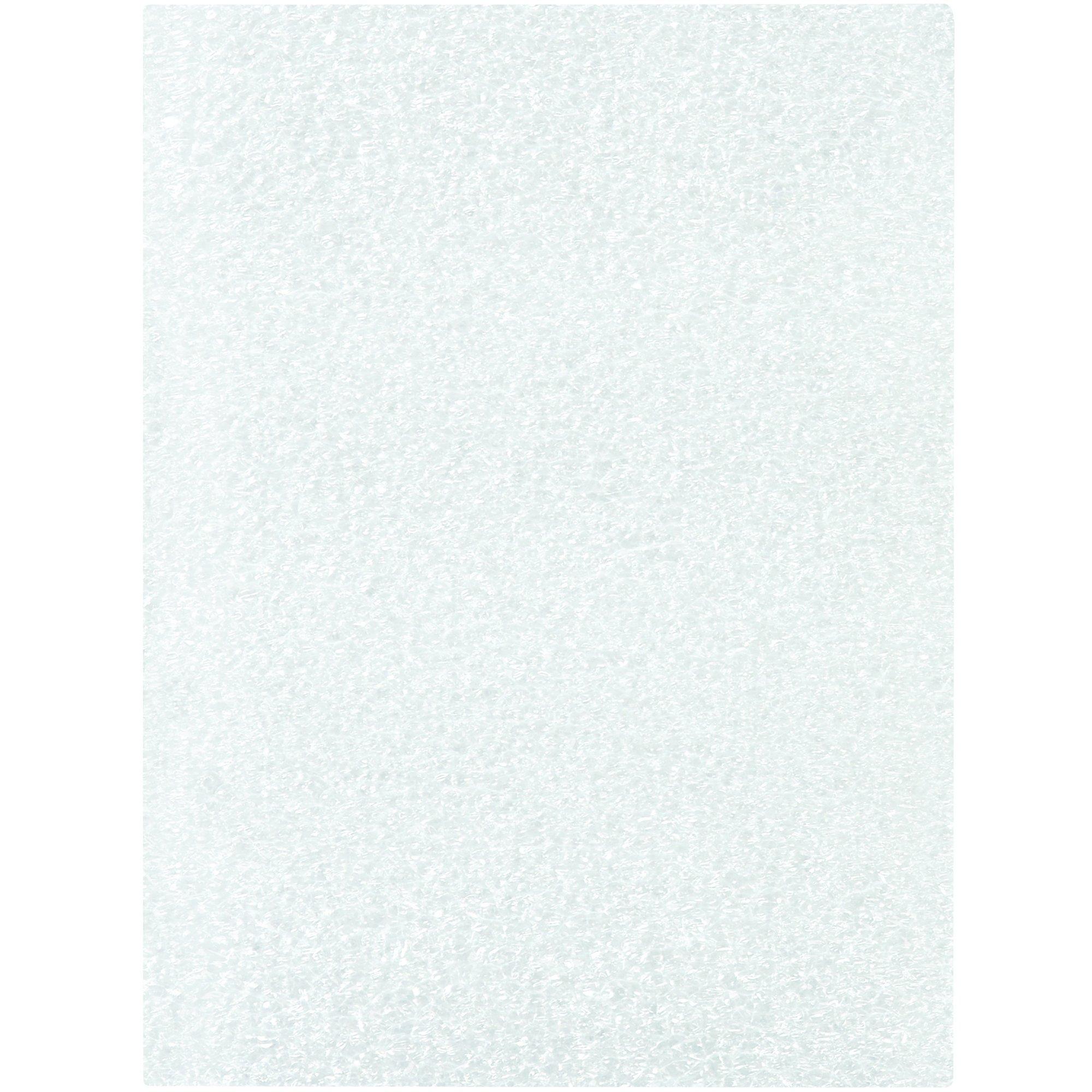 BOX USA BFP34 Flush Cut Foam Pouches, 3'' x 4'', White (Pack of 500)