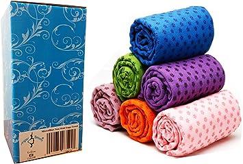 Angel Microfiber Non Skid Yoga Towel Yoga Mat 24
