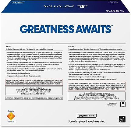 Amazon.com: Sony PlayStation Vita WiFi: Video Games
