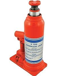JET 140103 -  5 Ton Hydraulic Bottle Jack-Super Heavy Duty