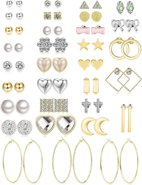 Small earrings Fun earrings Lightweight earrings Stud earrings: Polka dot earrings Earrings for tweens Earrings for Teens