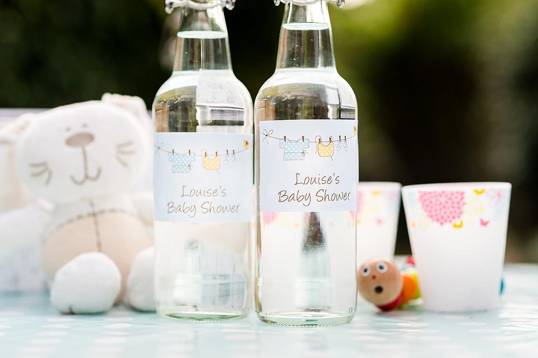 Avery HBL02 - Etiquetas para botellas (95 x 64 mm, 12 unidades): Amazon.es: Oficina y papelería