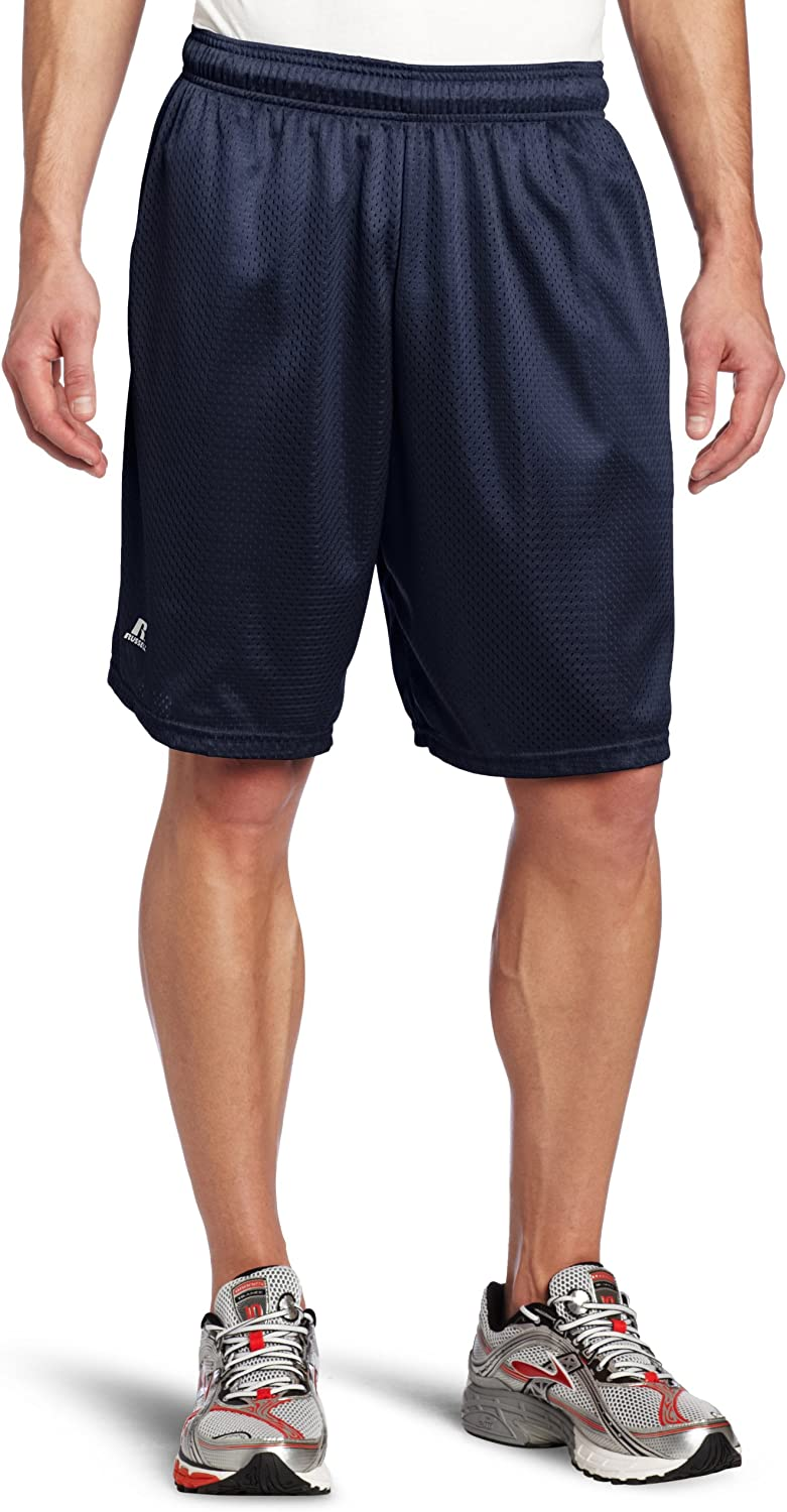 Russell Athletic Men's Mesh Short with Pockets at  Men's Clothing store: Gym Shorts