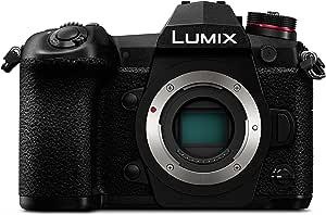 Panasonic Weather-Sealed LUMIX G9 4K Splash/Dust/Freezeproof Camera, Black (DC-G9GN-K)