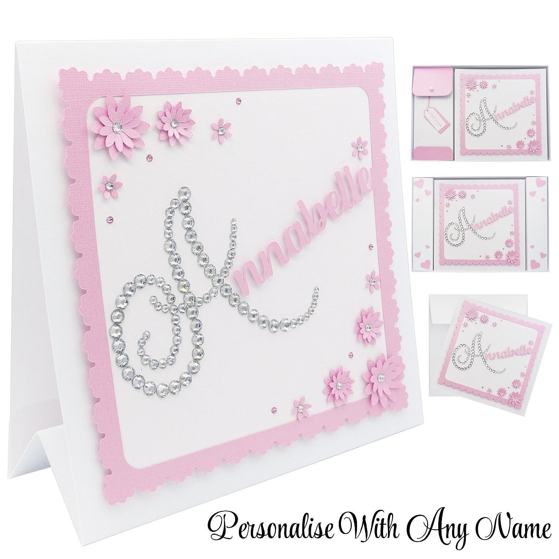 Granddaughter Daughter Personalised Handmade 25th Birthday Card Fashion