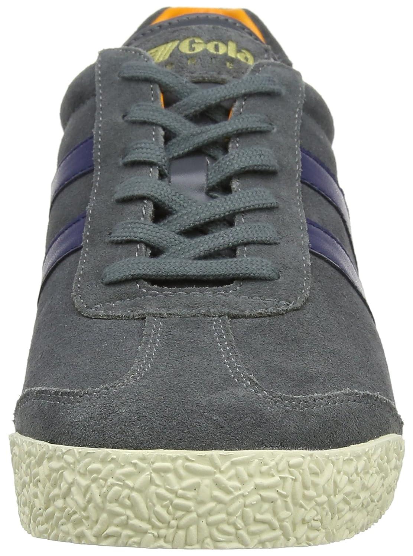 Gola Men's Harrier Fashion Sneaker B071P3DLD5 8 D(M) US|Graphite/Navy/Orange