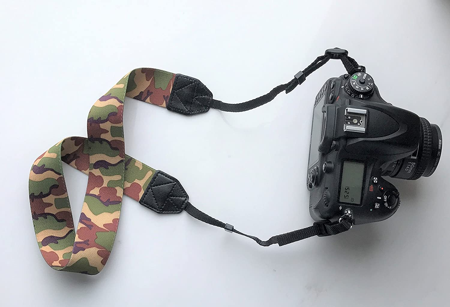 Gadget Place Camouflage Camera Strap for Sony Alpha a9 7S II 7R II 7 II 7S 7R 7