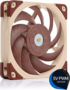 Noctua NF-A12x25 5V PWM, Premium Quiet Fan with USB Power Adaptor Cable, 4-Pin, 5V Version (120mm, Brown)