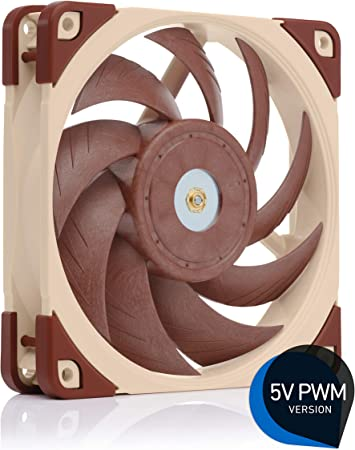 4-Pin 120mm, Brown Premium Quiet Fan Noctua NF-A12x25 PWM