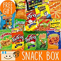 International Snacks Variety Pack for Adults + FREE Surprise! Guatemala International Snack Box - Snacks for Kids Subscription Box! Snacks from Around the World - Munchies Snack Mix - Weird Food Packs
