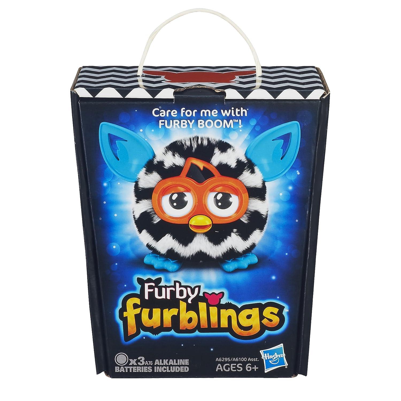 Furby Furbling Creature Zigzag Plush dp BECVUPO