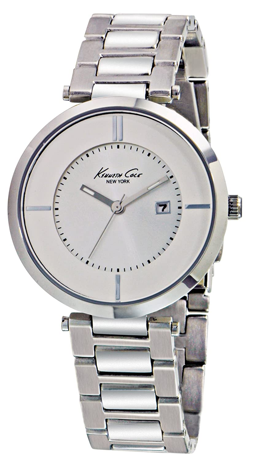 Amazon.com: Kenneth Cole New York Womens Analog Quartz Stainless Steel Case Stainless Steel Bracelet Silver,(Model:KC4708): Kenneth Cole: Watches