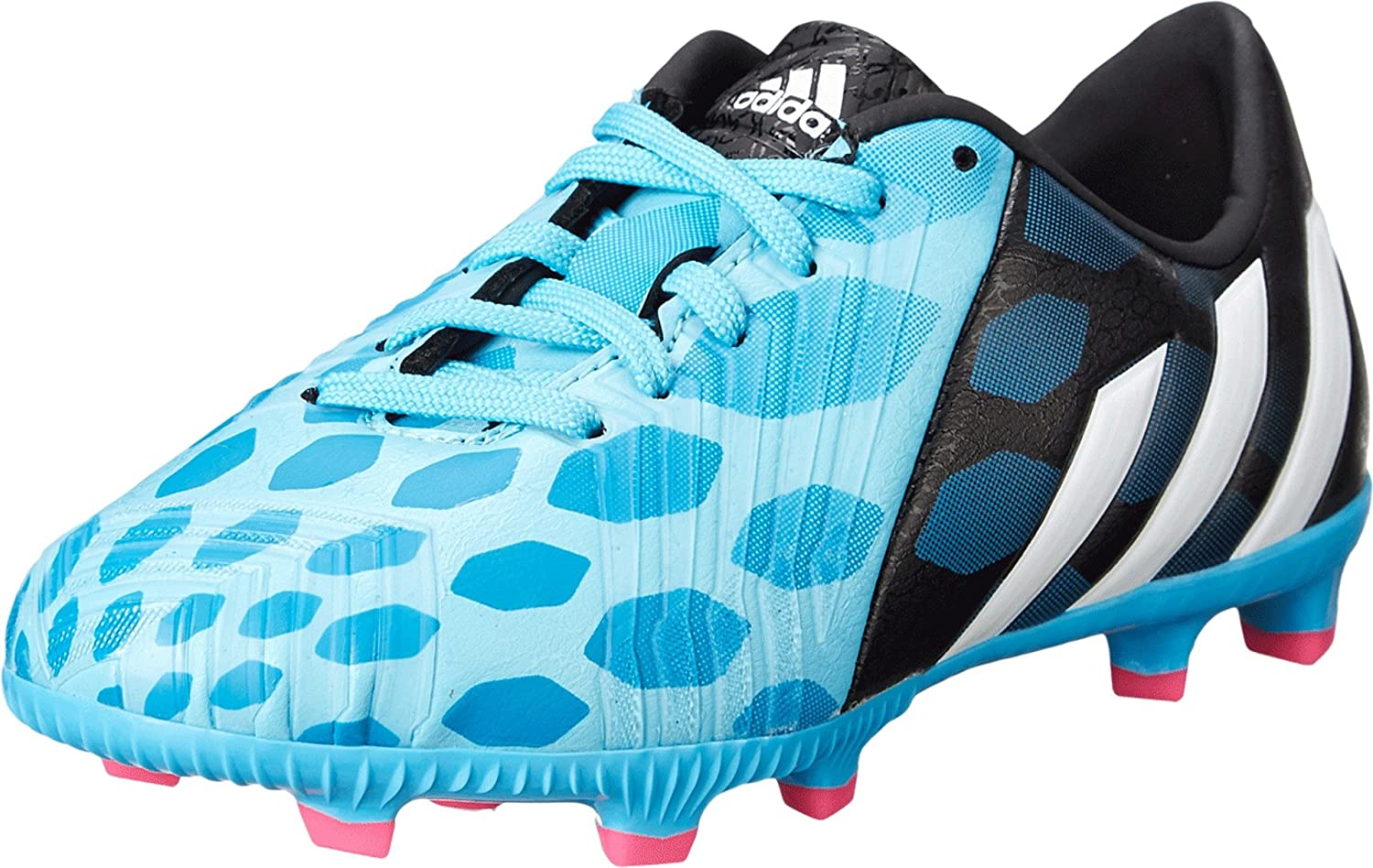 Corredor Descolorar Brote  Amazon.com | adidas Predator Absolado Instinct FG J Soccer Cleats (Boy's),  Solar Blue/White 5.5 | Soccer