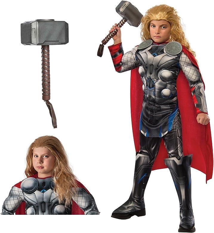 Disfraz de Thor de Los Vengadores Bundle Set – Disfraz de niño ...