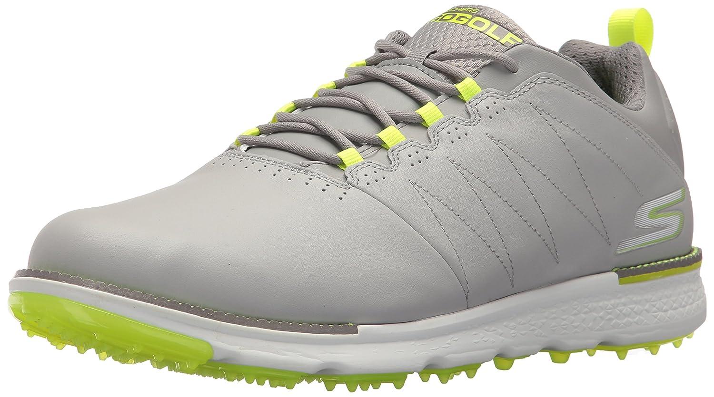 SKECHERS Performance(スケッチャーズ) メンズ 男性用 シューズ 靴 スニーカー 運動靴 GO GOLF - Elite V.3 - Gray/Lime 10 D - Medium [並行輸入品]   B074RP669W