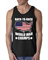 Back to Back World War Champs Men's Tank Top