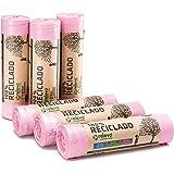 RELEVO 100% Reciclado Bolsas Basura Perfumadas, Extra Resistentes 30 L, 90 Bolsas