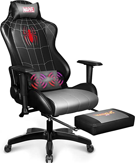 Recliner Adults Gamer Ergonomic Game Footrest Kids Reclining High Back Support Racer Leather Rocker Foot Rest Marvel Avengers Gaming Chair Desk Office Computer Racing Chairs