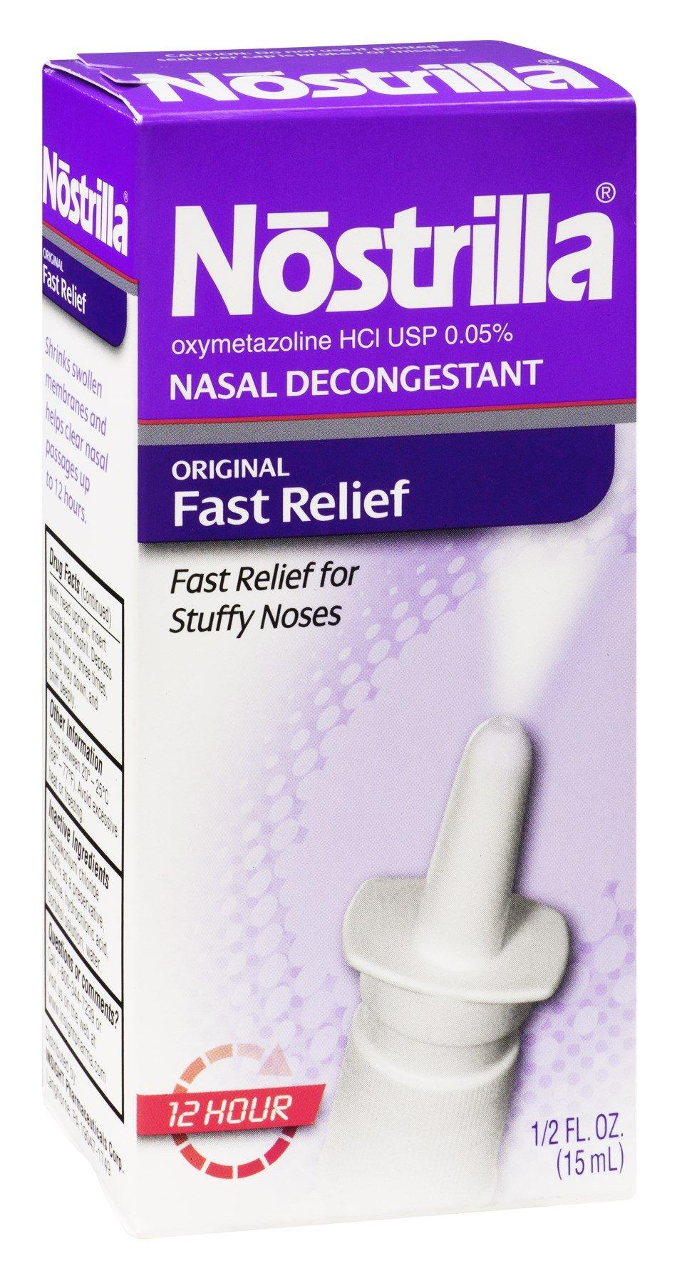 Nostrilla Nasal Spray by Nostrilla