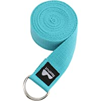 REEHUT D-Ring Gesp Yoga Band 1.8M, 2.4M, 3M - Duurzaam Polyester Katoen Verstelbare Riemen voor Stretching, Algemene…