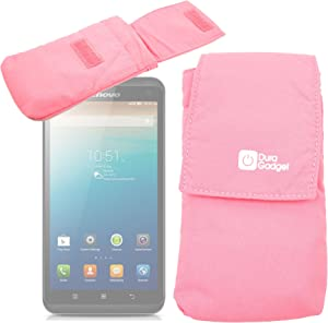 DURAGADGET Lightweight Pink Protective Nylon Case w/Belt Loop - Suitable for use with ASUS ZenFone 5 /Lenovo S860 | Vibe Z | S856 & Star S7100