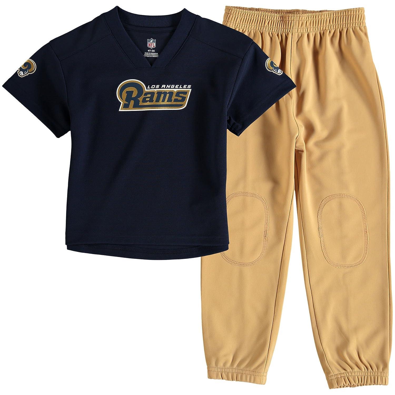 7ef63dbd Los Angeles Rams Toddler Navy/Gold Fan Gear Lil' Field Pant Set