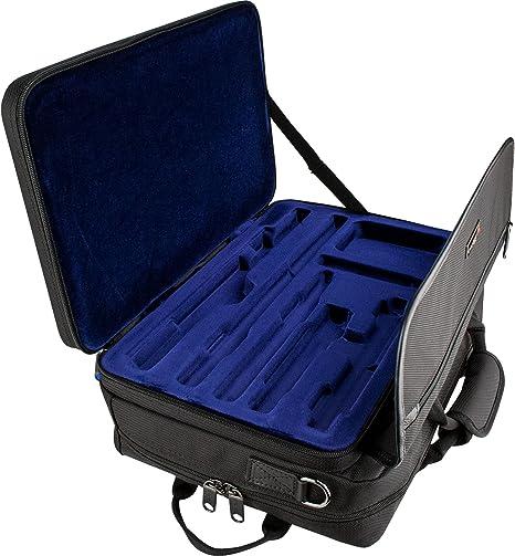 ProTec LX308PICC - Estuche para flauta travesera y flautín, color negro: Amazon.es: Instrumentos musicales