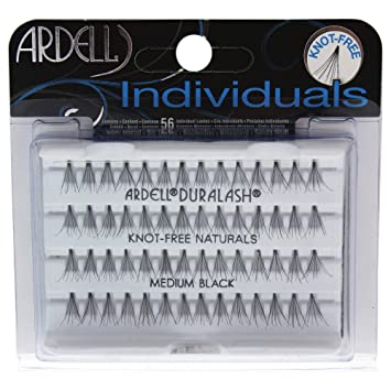 a62d08ff17b ARDELL DURALASH NATURALS FLARES KNOT-FREE MEDIUM BLACK(56 LASHES ...