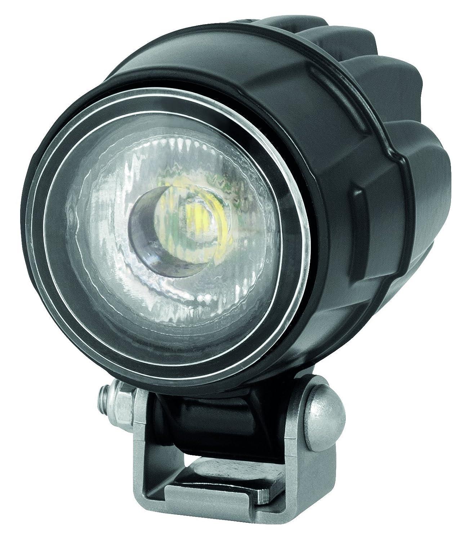 schwarzes Aluminiumdruckgussgeh/äuse 12V// 24V 800 Lumen HELLA 1G0 995 050-001 stehender Anbau Nahfeldausleuchtung Modul 50 LED Arbeitsscheinwerfer