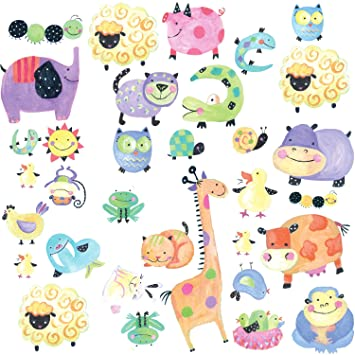 Great RoomMates Repositionable Childrens Wall Stickers Polka Dot Piggy Part 20