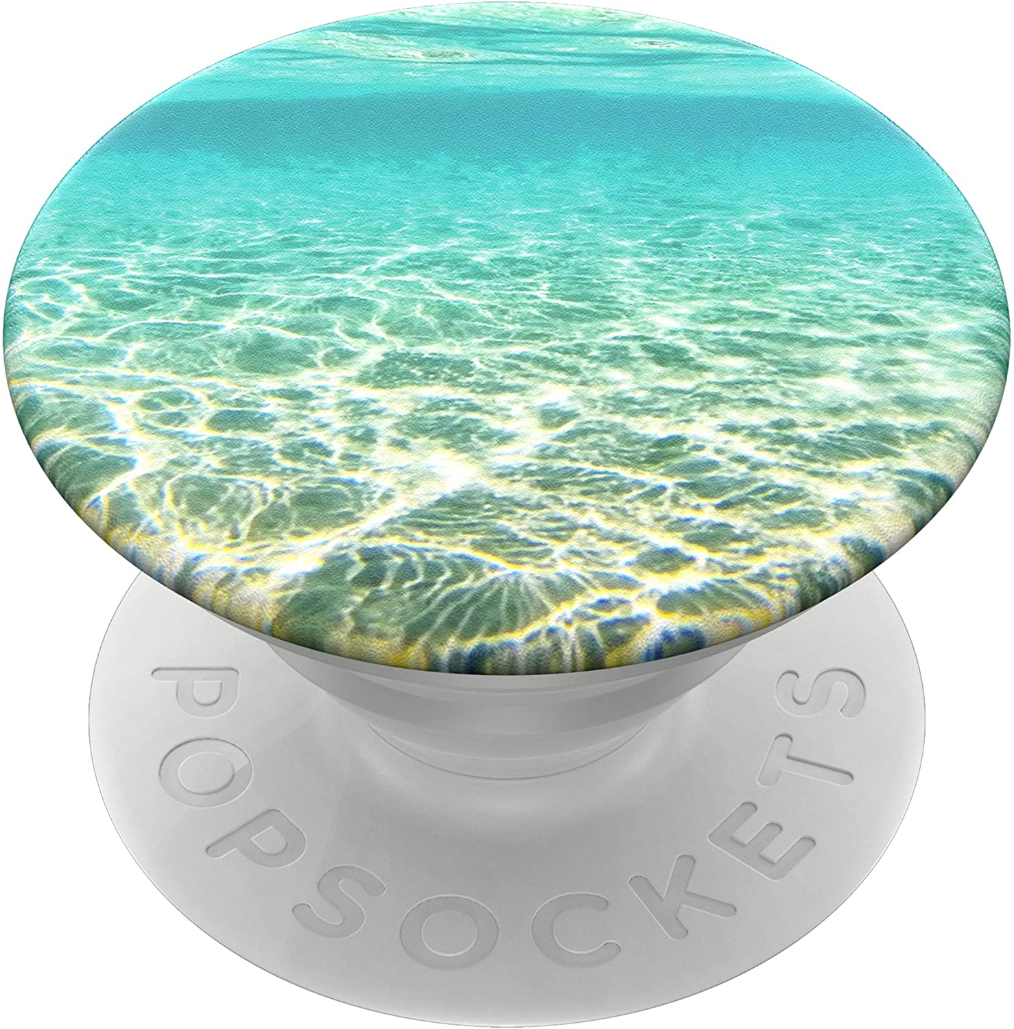 PopSockets PopGrip - Expanding Stand and Grip with Swappable Top - Blue Lagoon