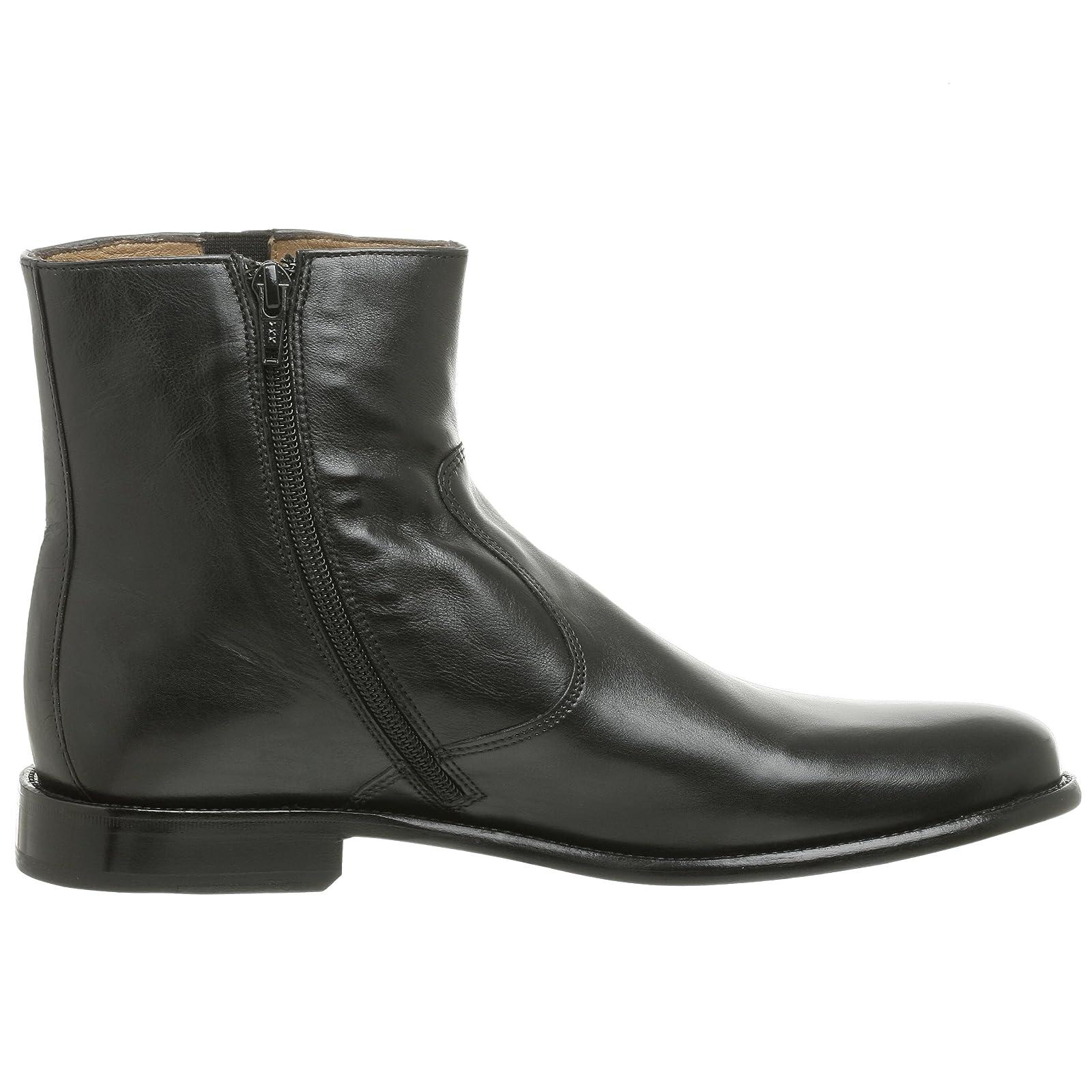 Florsheim Men's Hugo Boot 18570 Black Milled Leather - 6