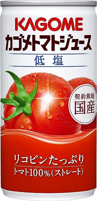 カゴメ トマトジュース 低塩 (190g×6缶)×5パック