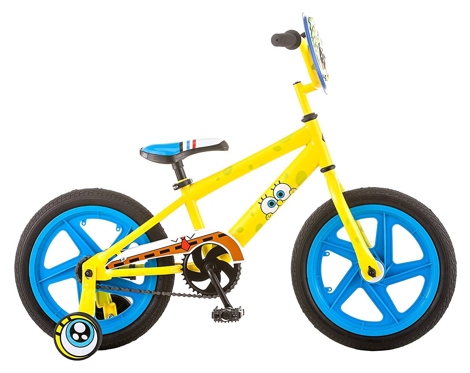 SpongeBob R7628TR Boy's Bicycle, 16 by SpongeBob SquarePants B0142TIOVQ
