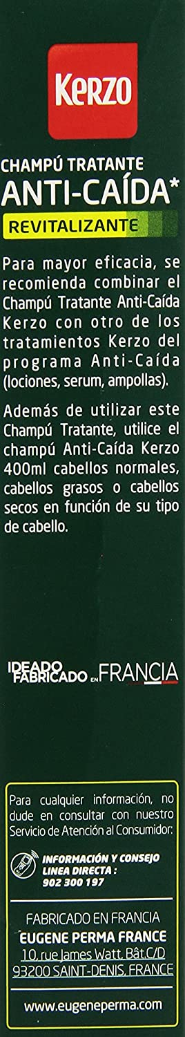 Amazon.com: CHAMPÚ TRATANTE anti-caida 250 ml: Clothing