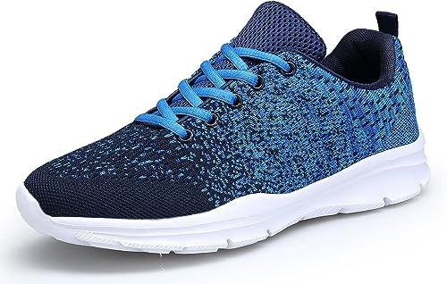 KOUDYEN Zapatillas Deportivas de Mujer Hombre Running Zapatos para Correr Gimnasio Calzado: Amazon.es: Zapatos y complementos