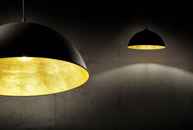 308000106 Trio Leuchten Pendelleuchte Romino II in Chrom Schirm innen silberfarbig