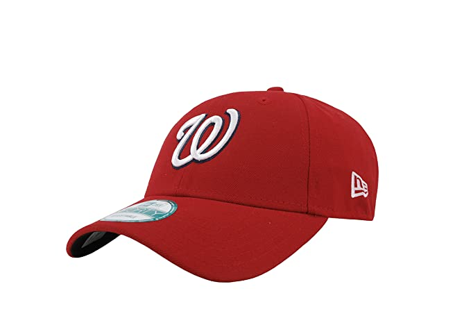 New Era 9Forty MLB Hat The League Adjustable Cap (Washington Nationals) 14625bd931e