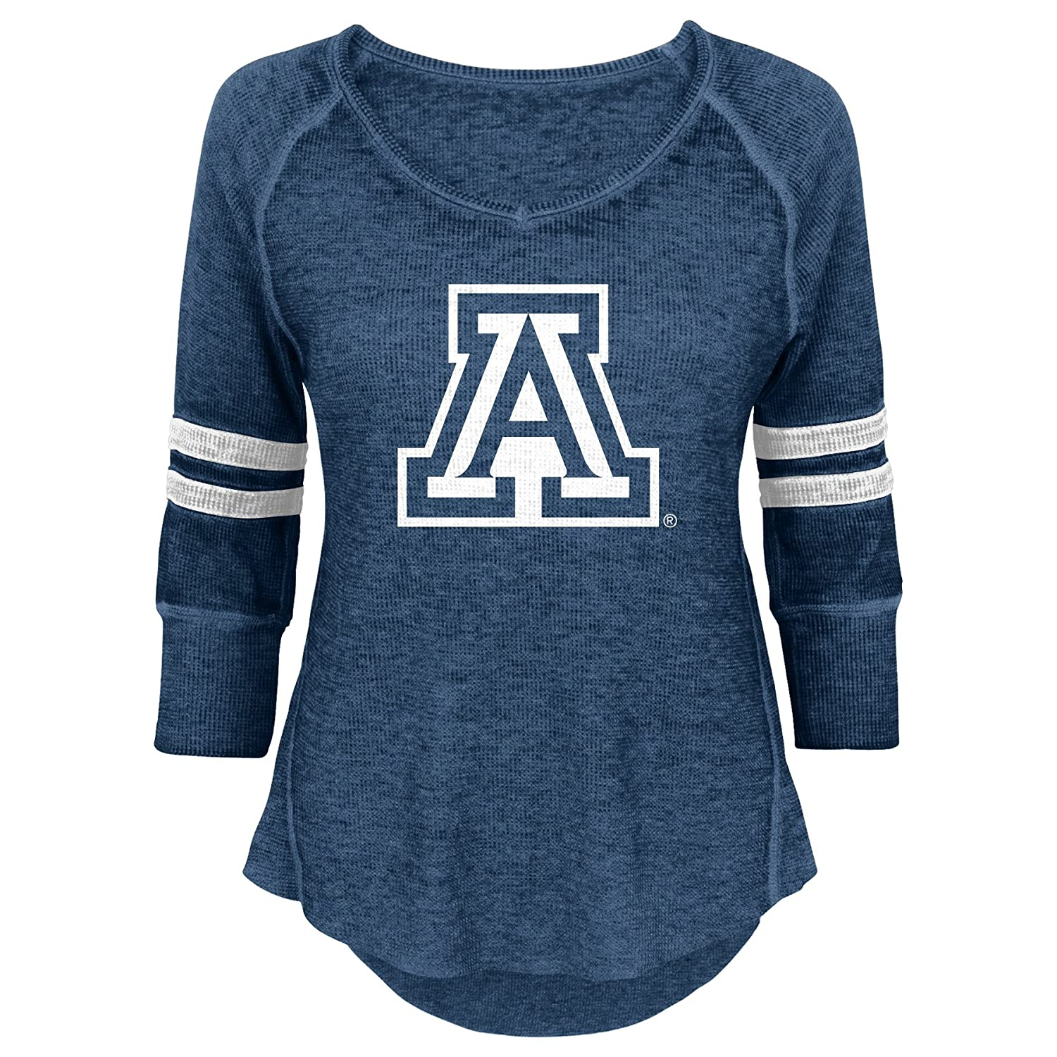 NCAA Arizona Wildcats Juniors Outerstuff Relaxed 3//4 Raglan Thermal Top 15-17 Team Color X-Large