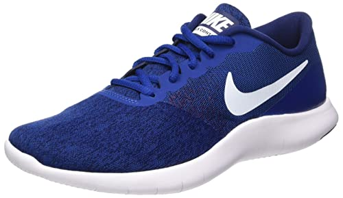 Amazon.com | Nike Mens Flex Contact Running Shoes (11 D(M), Gym Blue/White-Binary Blue) | Running