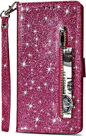 Yobby Glitzer Brieftasche Hülle Für Samsung Galaxy S7 Elektronik