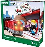 BRIO (ブリオ) メトロレールウェイセット [ 木製レール おもちゃ ] 33513
