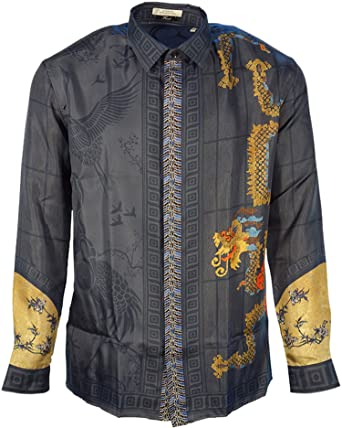 Versace Collection - Chemise Casual - Homme  Amazon.fr  Vêtements et ... eecf303bc93